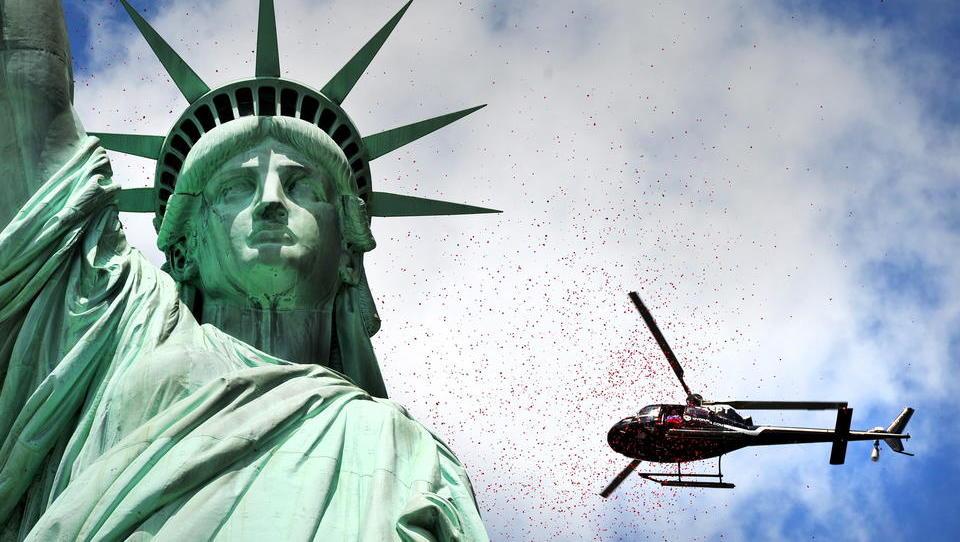 Amerikas Reiche verschanzen sich in Ferienhäusern und auf Yachten