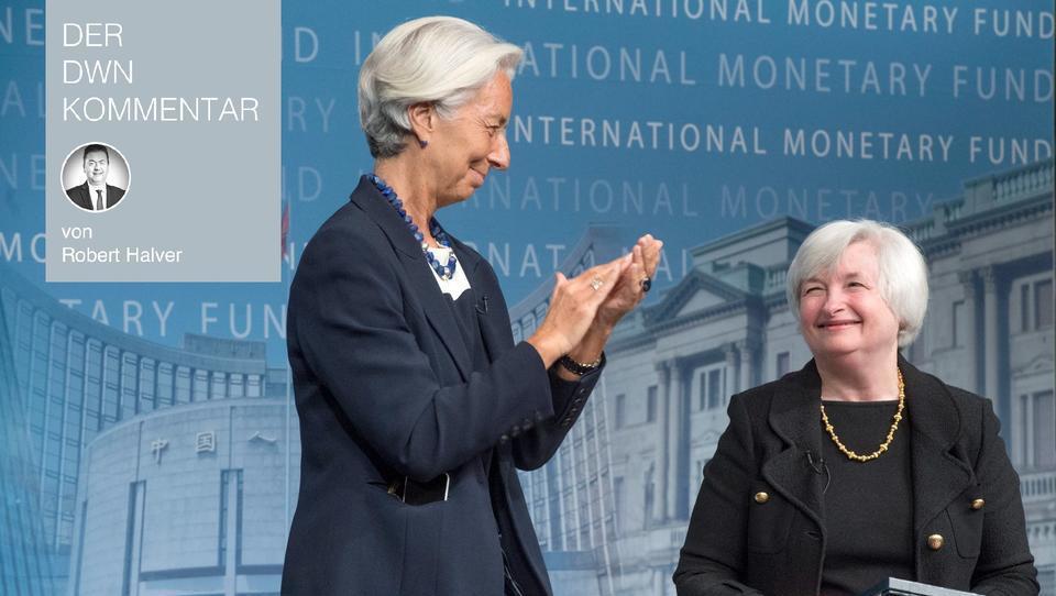 Aktionäre müssten Lagarde und Yellen wie Heilige verehren