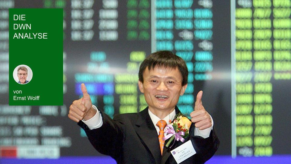 Mega-Börsengang in China mit westlichem Kapital: Politik, Banken und Tech-Riesen spielen ein abgekartetes Spiel
