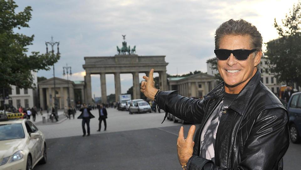 Hasselhoff dreht in Deutschland Agentenserie - und spielt sich selbst