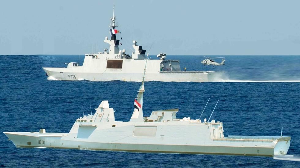 Ägypten manipuliert Foto: Hat das Mittelmeer-Manöver mit Frankreich in Wahrheit gar nicht stattgefunden?