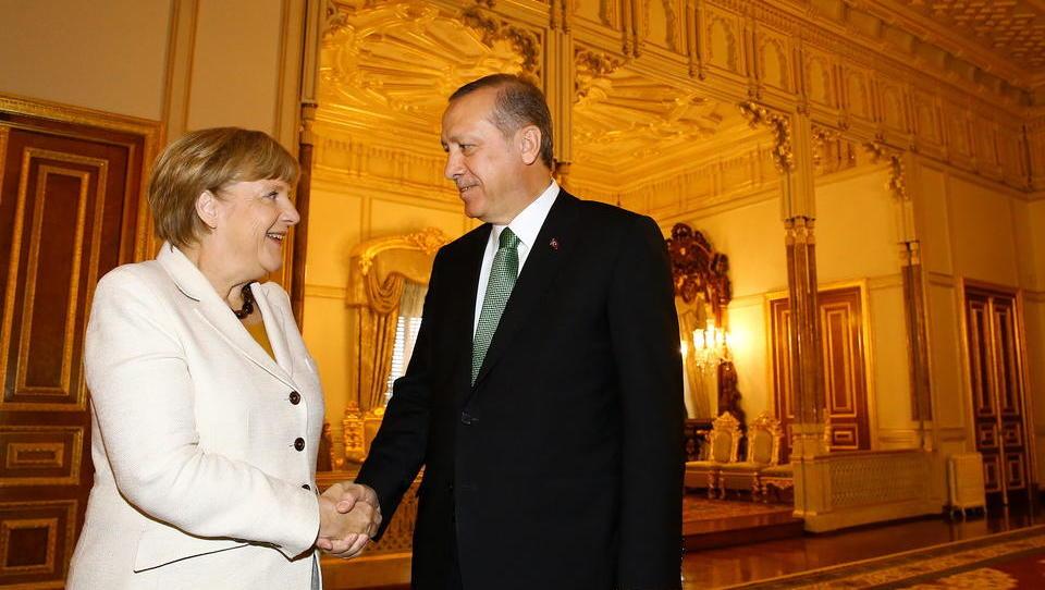 Türkei: Merkel bittet Erdogan um Rücknahme der Flüchtlinge