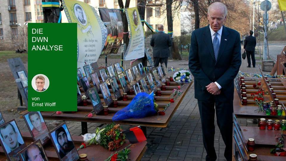 Pulverfass Ukraine: Die USA spannen im Hintergrund die Fäden - mit China und Europa als Gegner