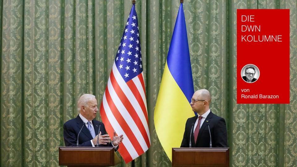 Biden sieht Russland als Feind - und wird Waffen an die Ukraine liefern