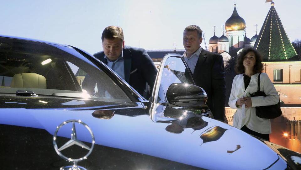 Russlands Automarkt erstmals wieder mit einem Zuwachs