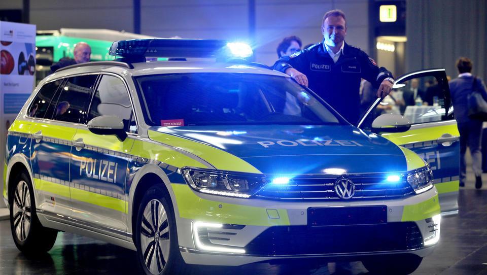 Die deutsche Polizei setzt auf Autos von Volkswagen