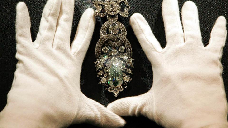 Leihgabe an New York könnte weltberühmten Grünen Dresdner Diamanten vor Diebstahl gerettet haben