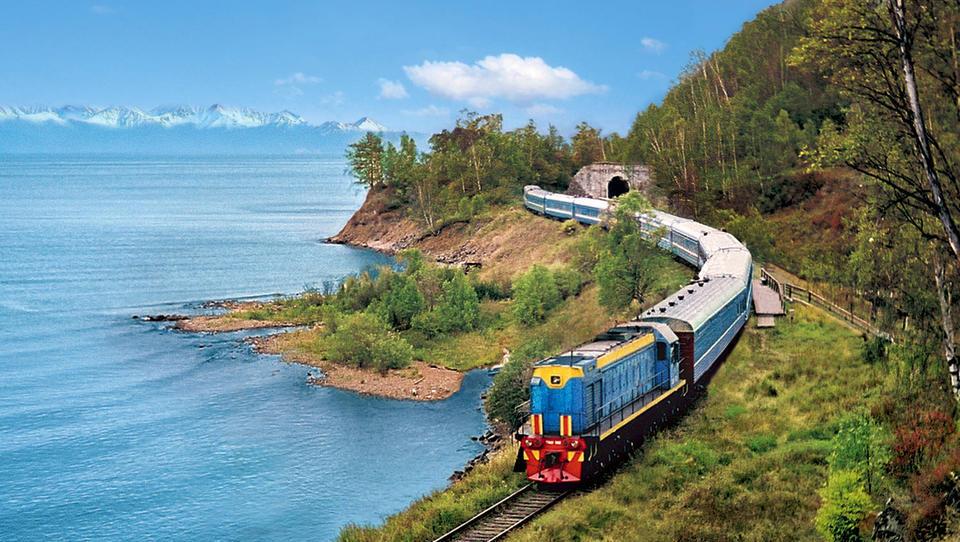 Bei Russlands Staatsbahn kriecht die Fracht im Schneckentempo über die Gleise