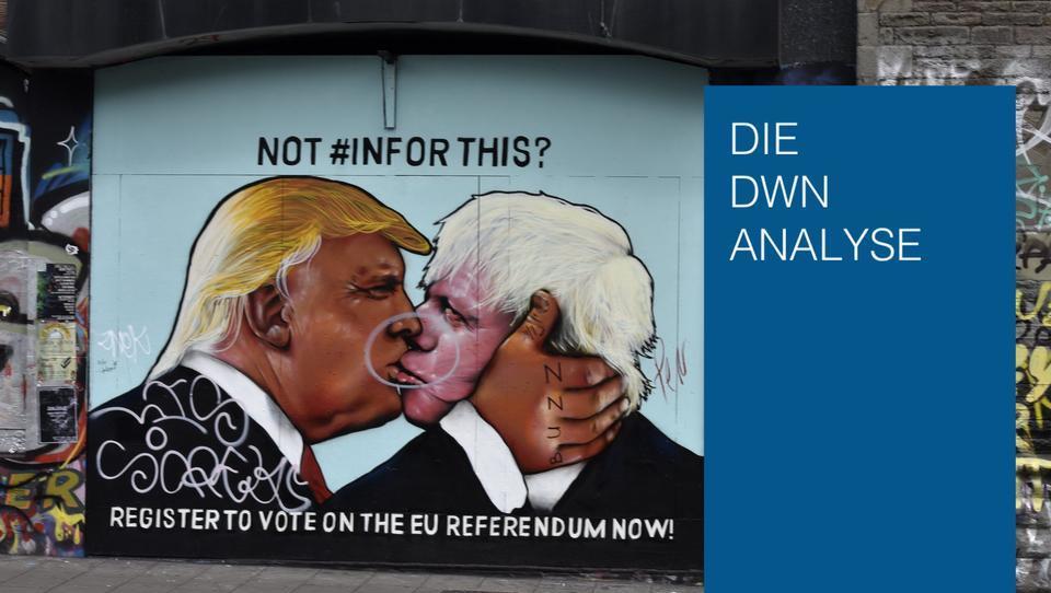 London in der Klemme: Der Traum vom schnellen Handelsdeal mit den USA platzt