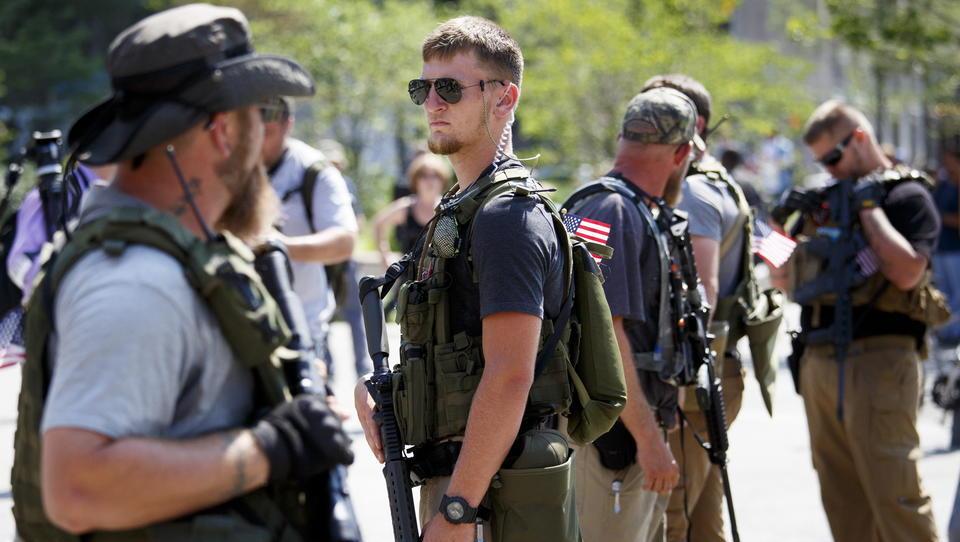 Es ist zu spät: Joe Biden kann den bewaffneten Rechtsextremismus nicht mehr eindämmen
