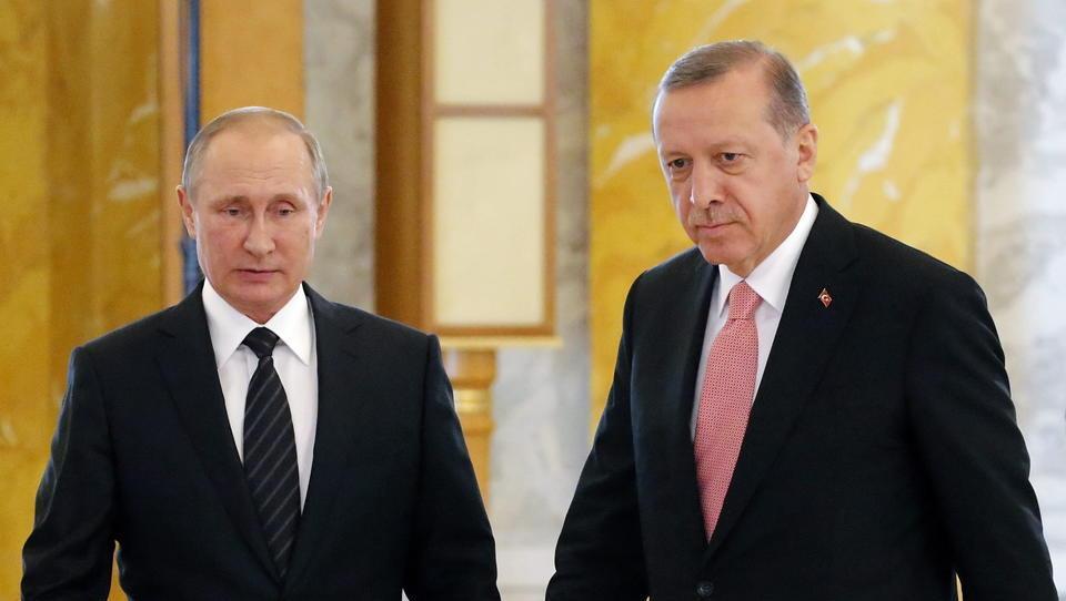 Putin und Erdogan vereinbaren angeblich Zusammenarbeit in Syrien