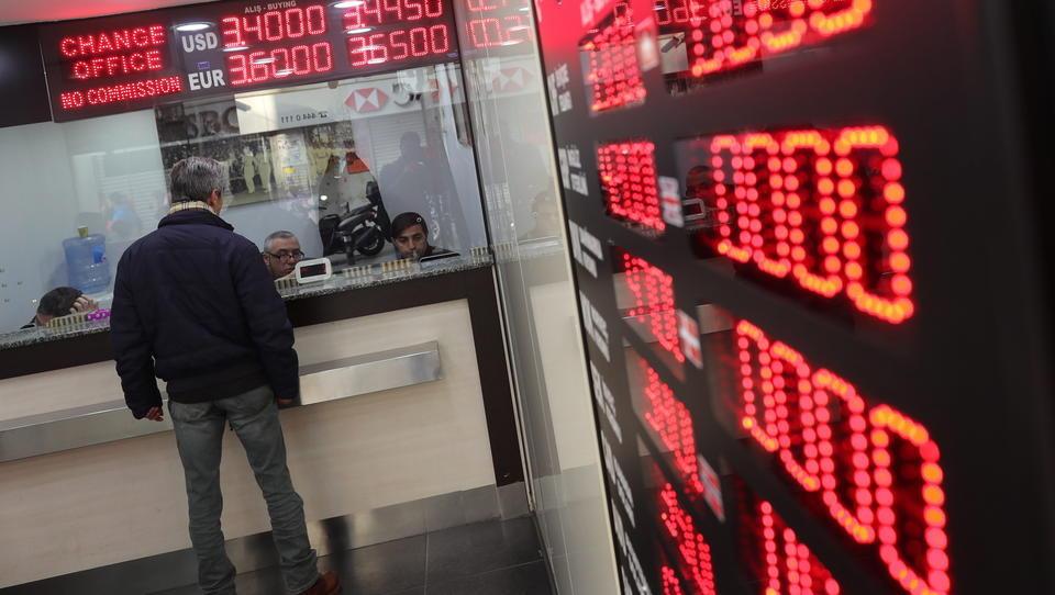 Türkische Lira stürzt auf Allzeittief zum Dollar