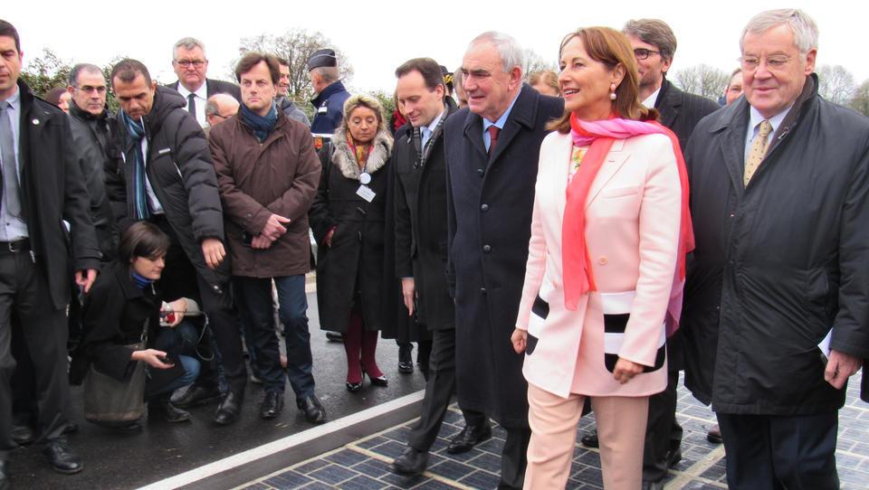 Frankreichs Energieprojekt der Solarstraße floppt