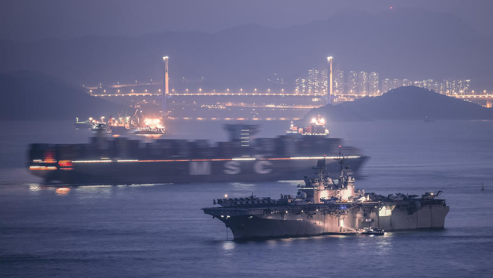 China verbietet ab sofort Anlegen von US-Kriegsschiffen in Hongkong