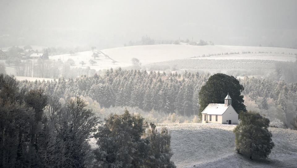 In diesen Regionen sind die Chancen auf weiße Weihnachten am höchsten