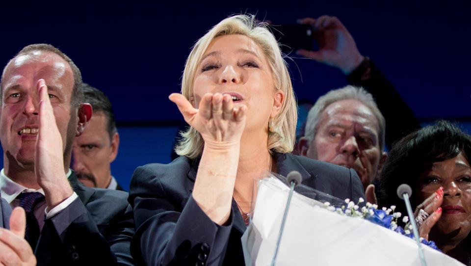 Zweiter Platz mit 19 Prozent: Großer Erfolg für Marine Le Pen bei Regionalwahlen