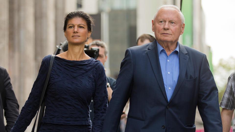 """Oskar Lafontaine nennt Kanzlerin Merkel """"US-Vasallin"""""""