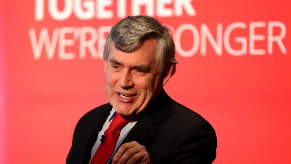 Ehemaliger britischer Premier Brown plädiert für temporäre Weltregierung