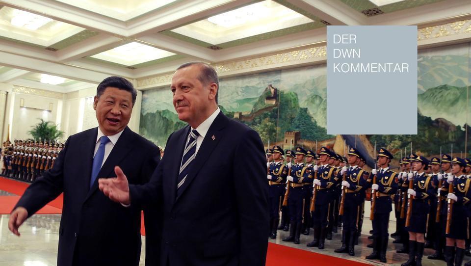 Die Türkei lässt sich von China in die Falle locken - schuld ist die EU