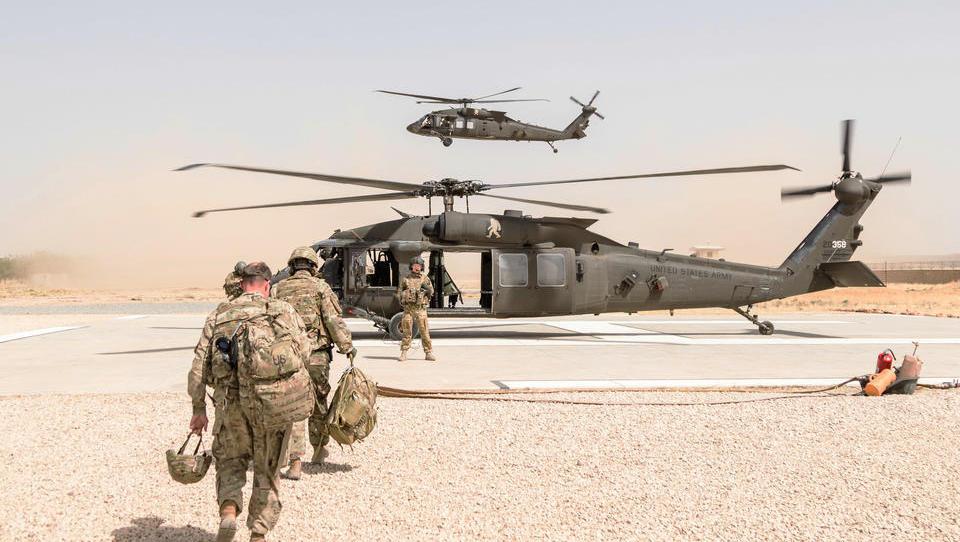 USA kündigen bedingungslosen Abzug aus Afghanistan an