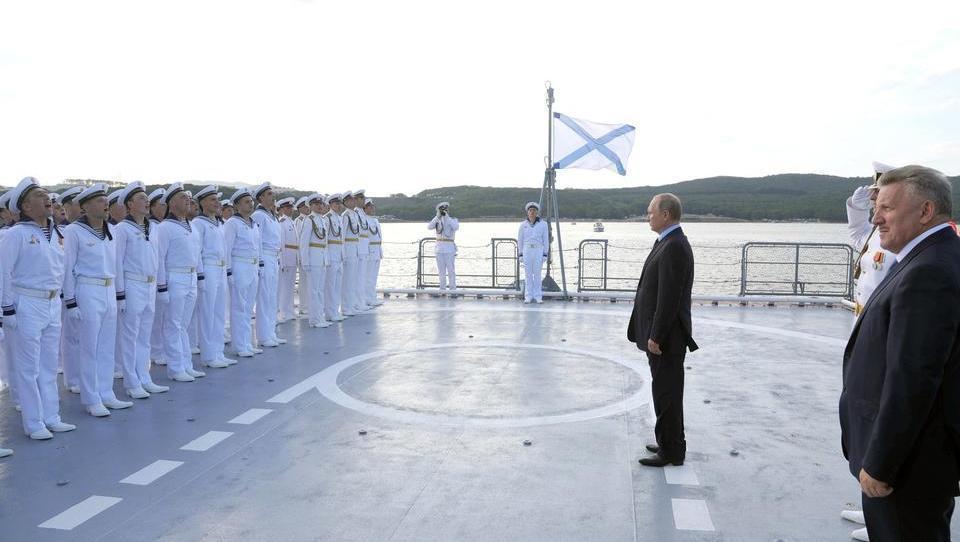 Ein neuer Kalter Krieg? Auf den Weltmeeren wird kräftig aufgerüstet