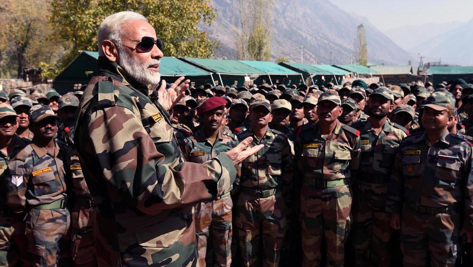 Nuklearmächte China und Indien mobilisieren Truppen im Himalaya