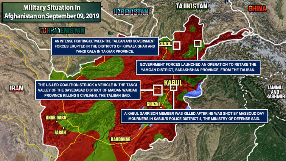 Afghanistan: Taliban und Al Qaida erobern Teile des Nordens
