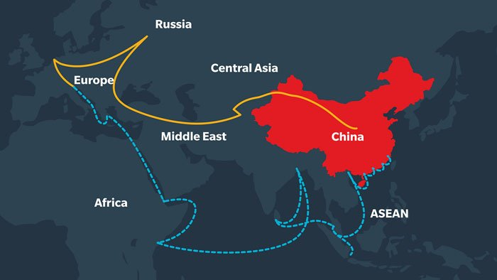 Italien wird Brückenkopf für Chinas Neue Seidenstraße in Europa