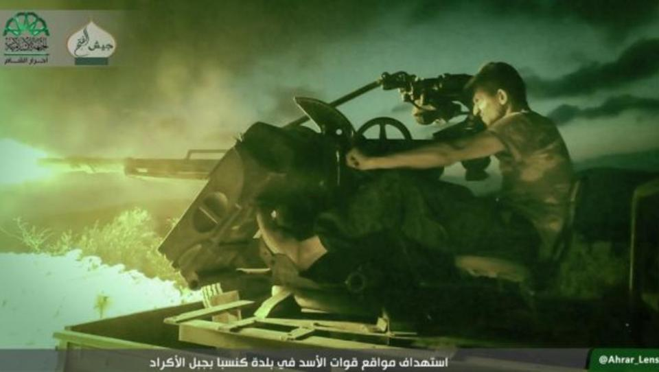 Syrien: Islamisten-Söldner schaffen Durchbruch in Latakia