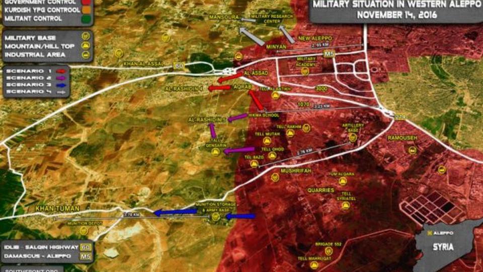 Söldner wollen Syrer und Russen in Häuserkampf verwickeln