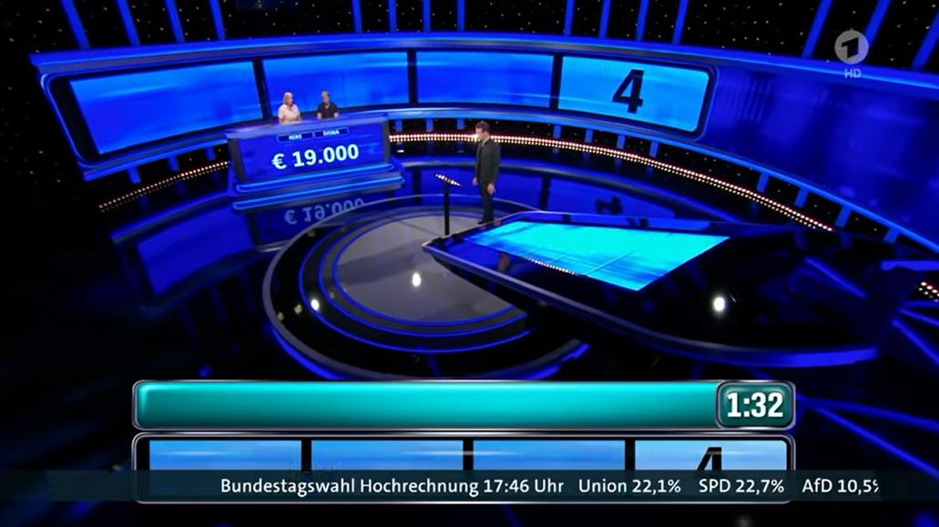 """""""Es war ein Test"""": ARD blendet live Hochrechnungen ein – zwei Tage vor der Wahl"""