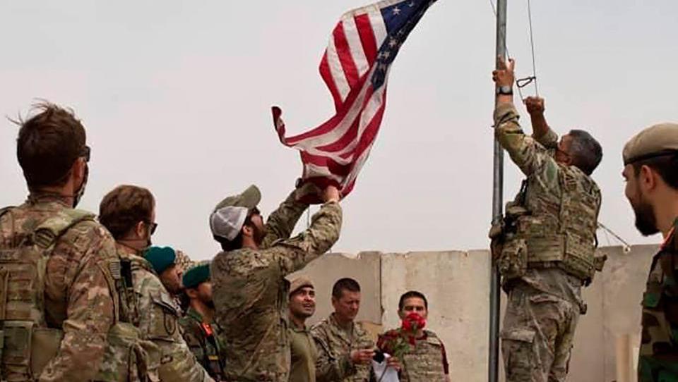 US-Truppen ziehen aus Afghanistan ab, Taliban erobern weitere Gebiete