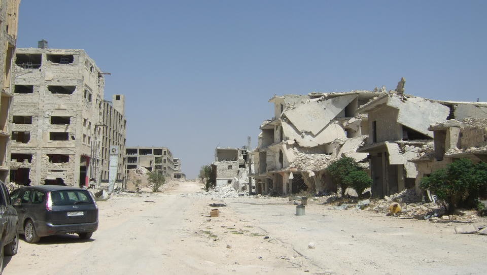 Aleppo: Der Krieg hat aus der Handels-Metropole eine Geisterstadt gemacht