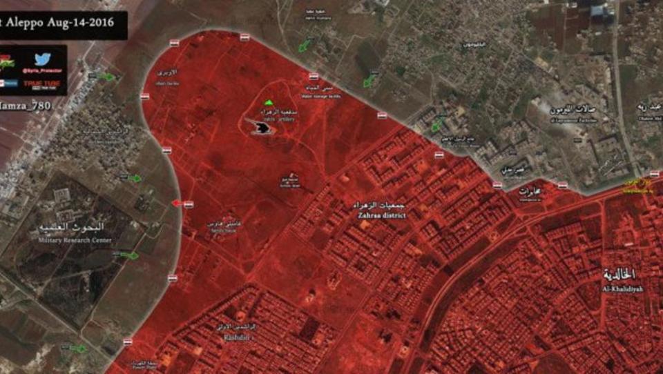 Syrien: Söldner verhindern Hilfslieferung für Zivil-Bevölkerung