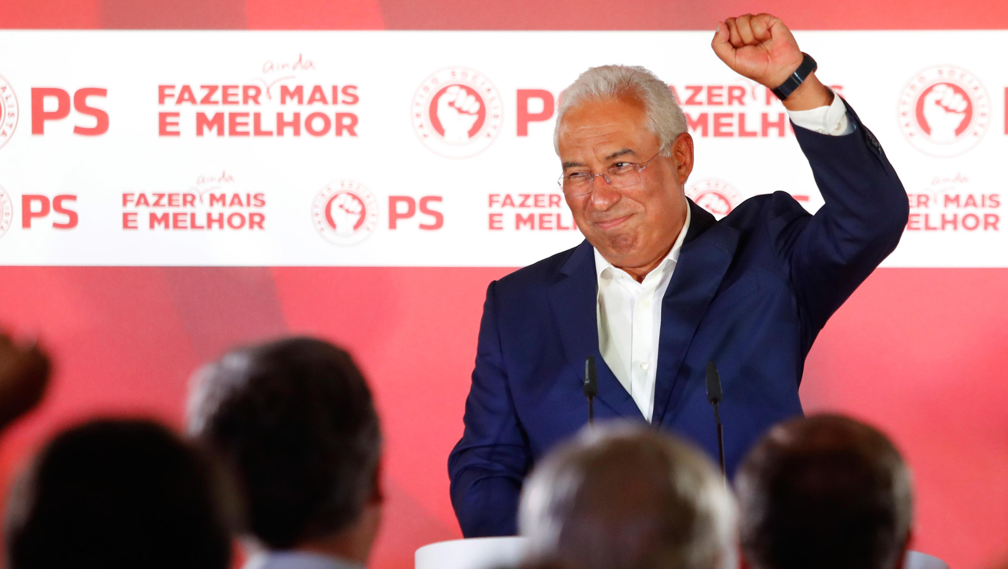 Portugal: Sozialistischer Wahlsieger will Bündnis mit EU-Gegnern fortsetzen