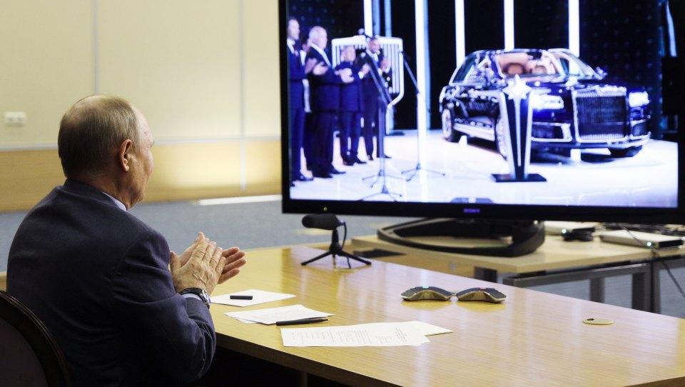 Aurus startet Serienproduktion von Präsident Putins Luxuslimousine