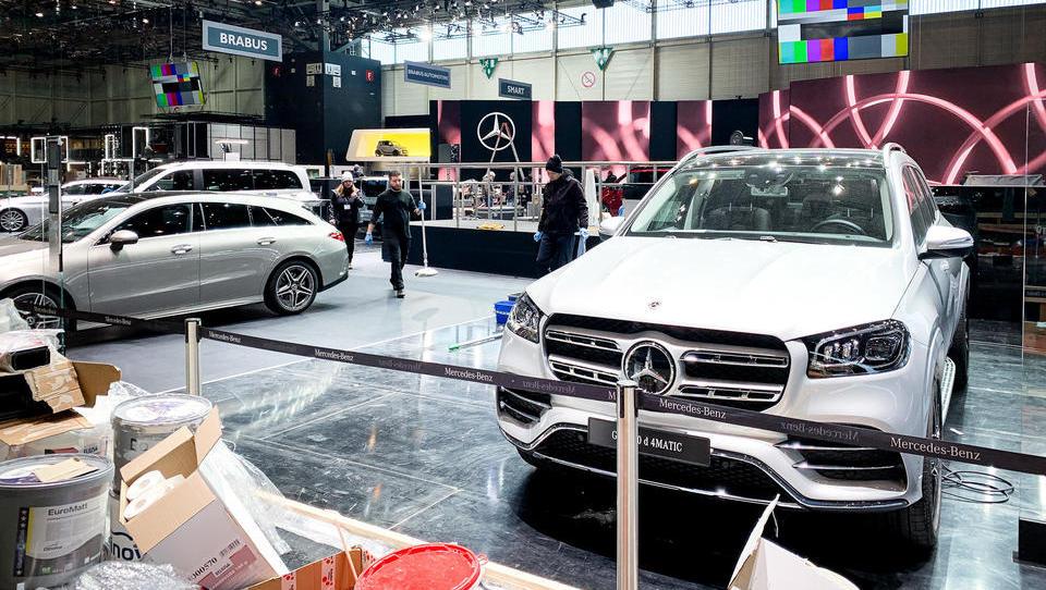 Genfer Autosalon abgesagt, Schweiz verbietet Großveranstaltungen