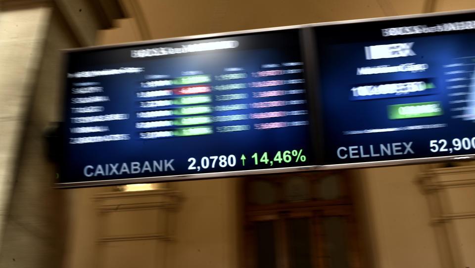 Europas Börsen deutlich schwächer, doch Bankaktien legen kräftig zu