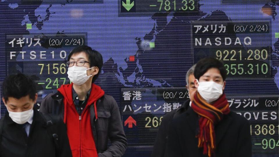 Virus-Angst setzt Börsen zu, Dax fällt unter 13.000 Punkte