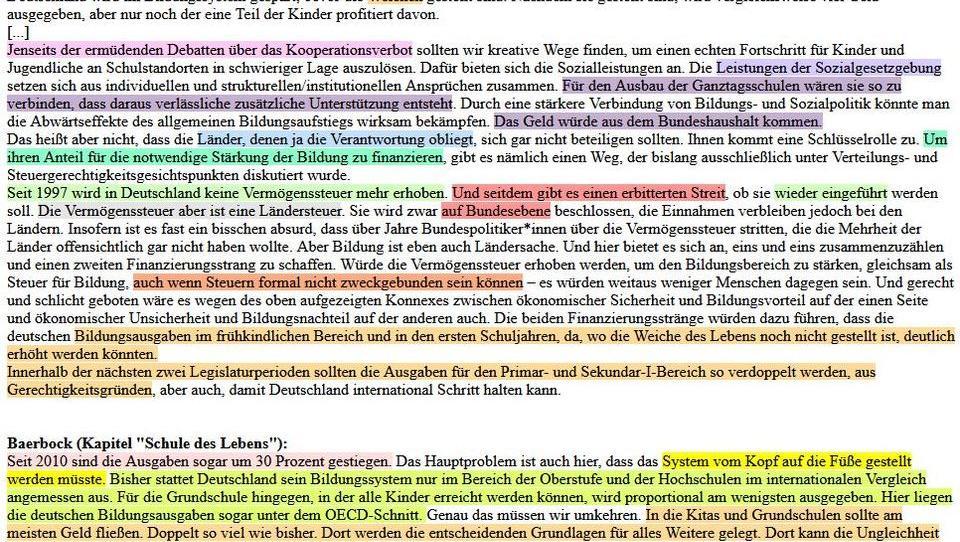 Neuer Plagiatsvorwurf: Baerbock soll auch bei Habeck abgeschrieben haben