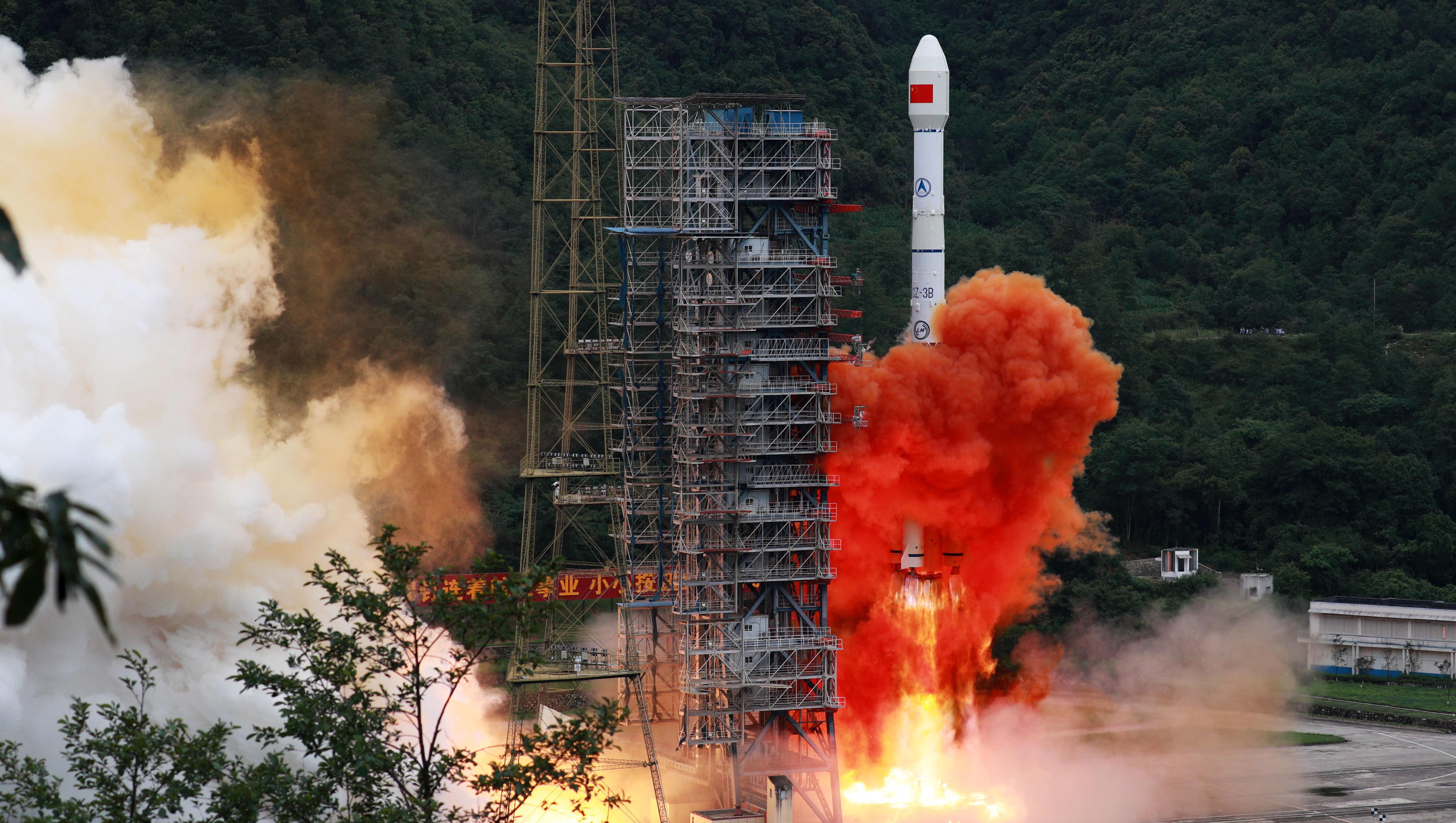 Chinas neues Satelliten-Netzwerk bedroht die Vorherrschaft der USA