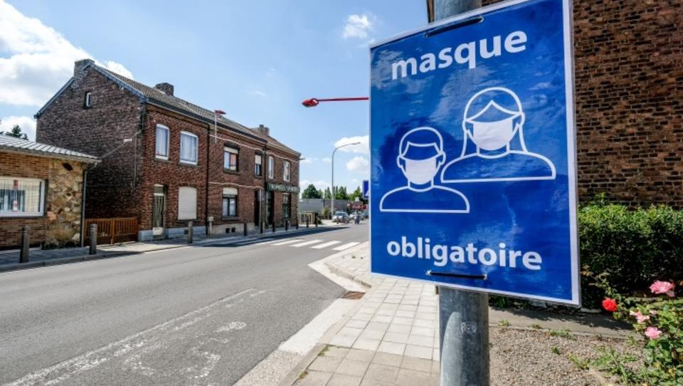 Maskenpflicht gilt ab sofort überall in Brüssel - auch im Freien