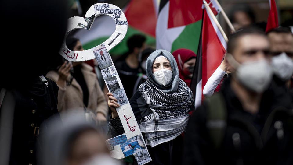 Deutschlandweit Proteste gegen Israel, Ausschreitungen in Berlin