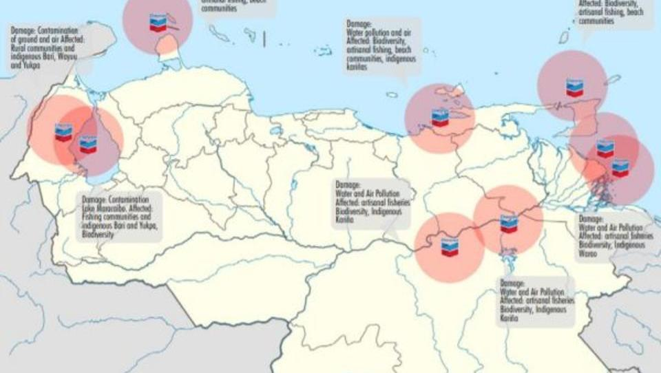 Venezuela: Kollaps der Ölindustrie erreicht US-Konzern Chevron