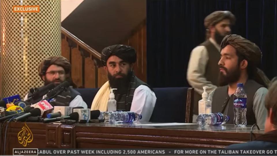 """Taliban: """"Wir wollen den Klimawandel bekämpfen"""""""