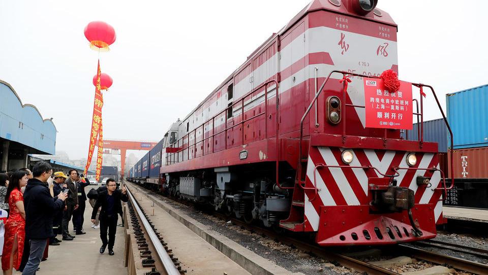 China treibt Seidenstraße voran: Immer mehr Züge rollen durch Asien nach Deutschland