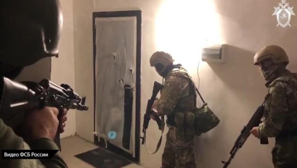 Russland sprengte Ausbildungsring von Terroristen, bevor Anschläge in Moskau stattfanden