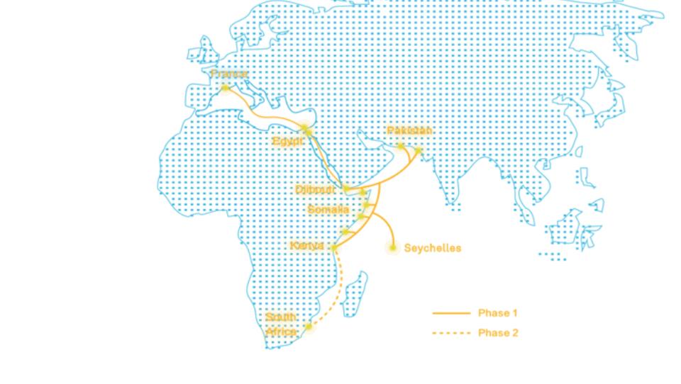 Seekabel von Asien nach Europa: China treibt digitale Seidenstraße voran