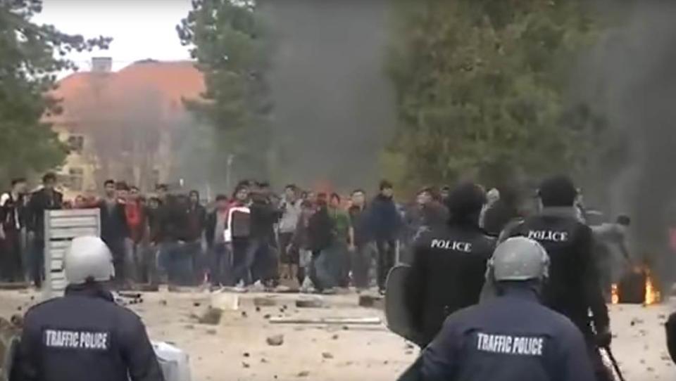 Schwere Ausschreitungen in Flüchtlingslager in Bulgarien