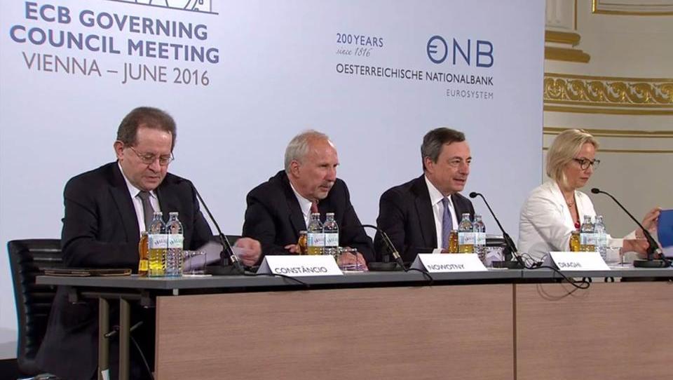 EZB sieht dauerhafte Erholung der Wirtschaft in Europa